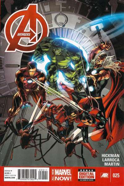 Avengers #25 Comic Books - Covers, Scans, Photos  in Avengers Comic Books - Covers, Scans, Gallery