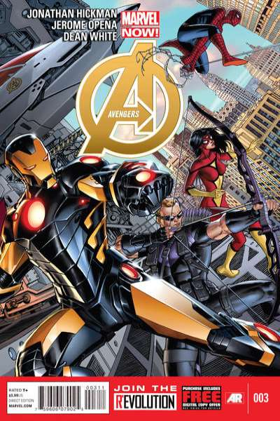 Avengers #3 Comic Books - Covers, Scans, Photos  in Avengers Comic Books - Covers, Scans, Gallery