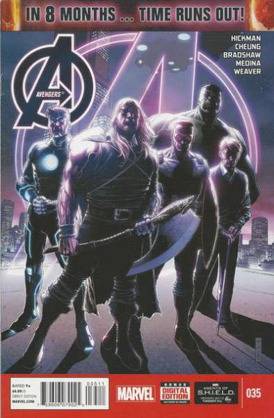 Avengers #35 comic books for sale