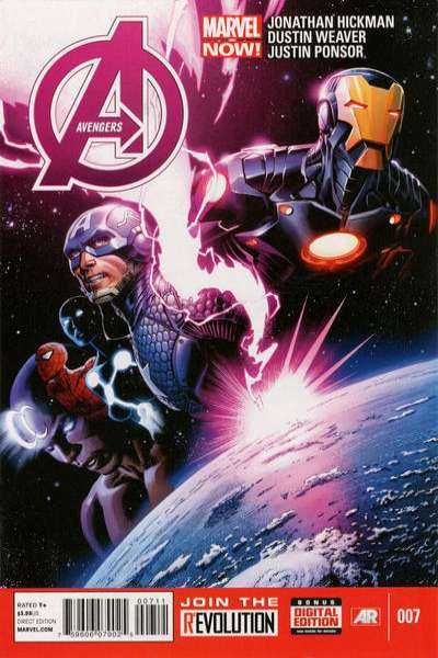 Avengers #7 Comic Books - Covers, Scans, Photos  in Avengers Comic Books - Covers, Scans, Gallery