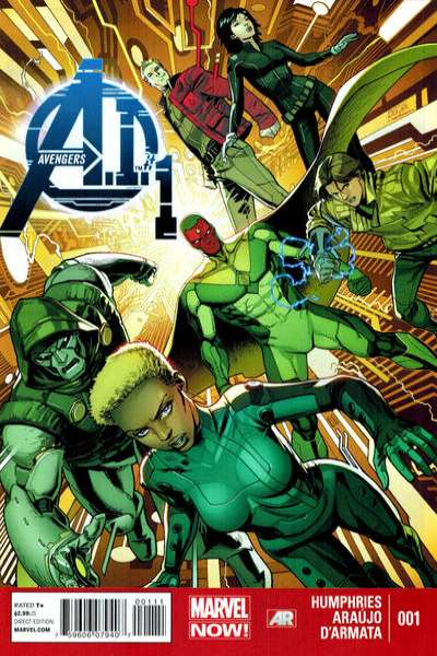 Avengers A.I. comic books