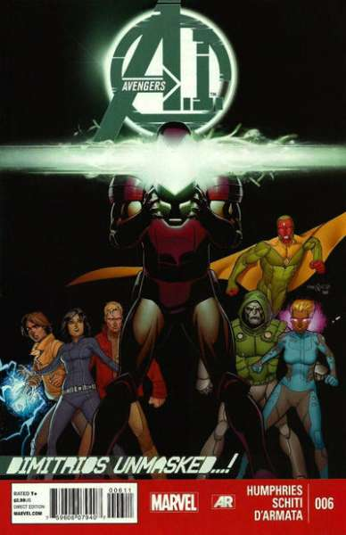 Avengers A.I. #6 Comic Books - Covers, Scans, Photos  in Avengers A.I. Comic Books - Covers, Scans, Gallery
