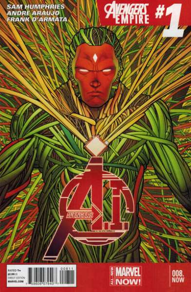 Avengers A.I. #8 Comic Books - Covers, Scans, Photos  in Avengers A.I. Comic Books - Covers, Scans, Gallery