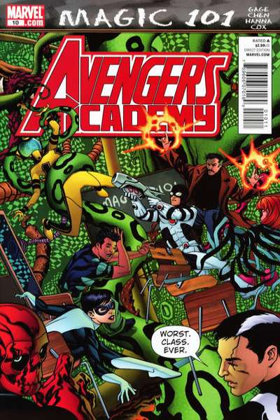 Avengers Academy #10 Comic Books - Covers, Scans, Photos  in Avengers Academy Comic Books - Covers, Scans, Gallery