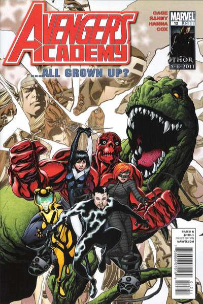 Avengers Academy #12 Comic Books - Covers, Scans, Photos  in Avengers Academy Comic Books - Covers, Scans, Gallery