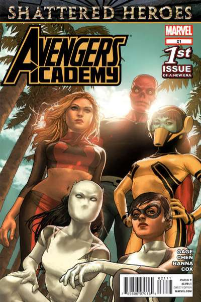 Avengers Academy #21 Comic Books - Covers, Scans, Photos  in Avengers Academy Comic Books - Covers, Scans, Gallery