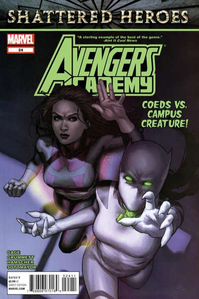 Avengers Academy #24 Comic Books - Covers, Scans, Photos  in Avengers Academy Comic Books - Covers, Scans, Gallery