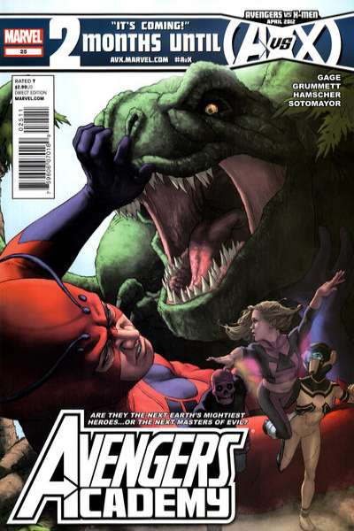 Avengers Academy #25 Comic Books - Covers, Scans, Photos  in Avengers Academy Comic Books - Covers, Scans, Gallery