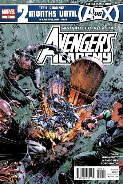 Avengers Academy #26 Comic Books - Covers, Scans, Photos  in Avengers Academy Comic Books - Covers, Scans, Gallery
