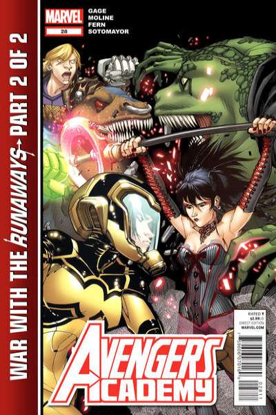 Avengers Academy #28 Comic Books - Covers, Scans, Photos  in Avengers Academy Comic Books - Covers, Scans, Gallery