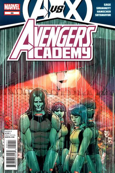 Avengers Academy #29 comic books - cover scans photos Avengers Academy #29 comic books - covers, picture gallery