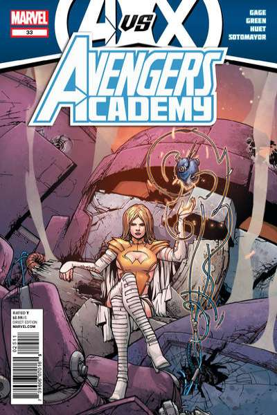 Avengers Academy #33 Comic Books - Covers, Scans, Photos  in Avengers Academy Comic Books - Covers, Scans, Gallery