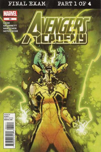 Avengers Academy #34 Comic Books - Covers, Scans, Photos  in Avengers Academy Comic Books - Covers, Scans, Gallery