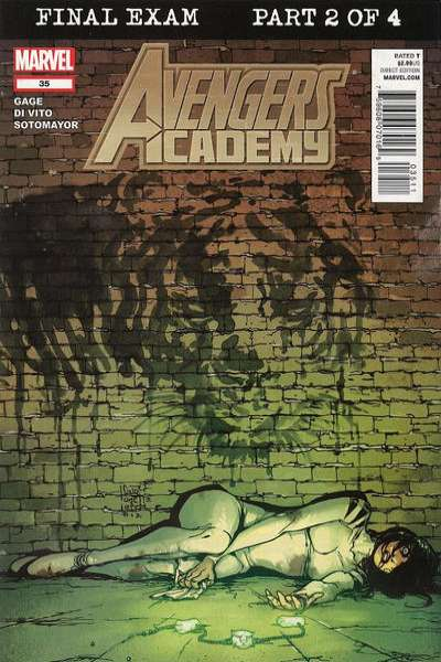 Avengers Academy #35 comic books - cover scans photos Avengers Academy #35 comic books - covers, picture gallery