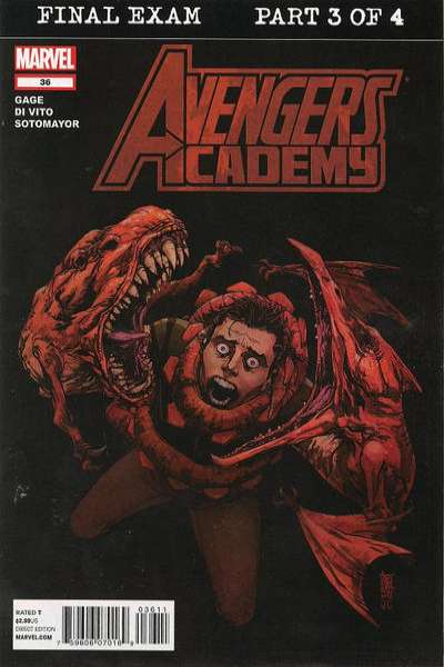 Avengers Academy #36 comic books for sale