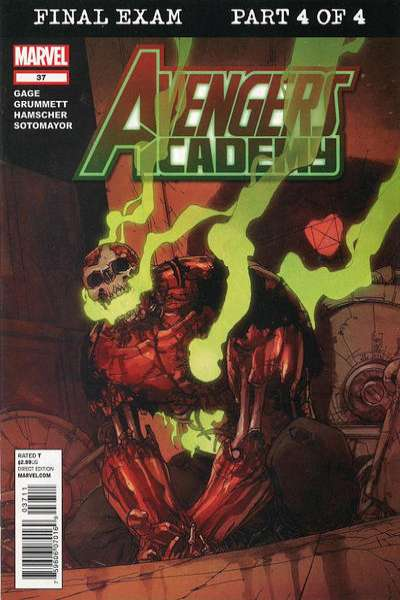 Avengers Academy #37 comic books - cover scans photos Avengers Academy #37 comic books - covers, picture gallery