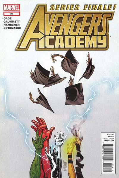 Avengers Academy #39 comic books - cover scans photos Avengers Academy #39 comic books - covers, picture gallery