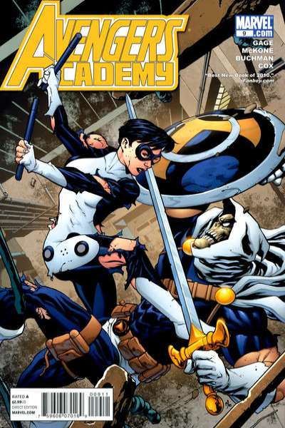 Avengers Academy #9 Comic Books - Covers, Scans, Photos  in Avengers Academy Comic Books - Covers, Scans, Gallery