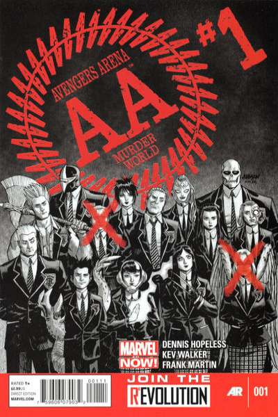 Avengers Arena #1 comic books - cover scans photos Avengers Arena #1 comic books - covers, picture gallery