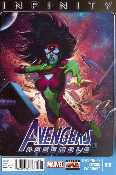 Avengers Assemble #18 comic books - cover scans photos Avengers Assemble #18 comic books - covers, picture gallery