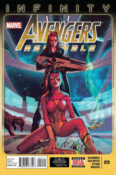 Avengers Assemble #19 comic books - cover scans photos Avengers Assemble #19 comic books - covers, picture gallery