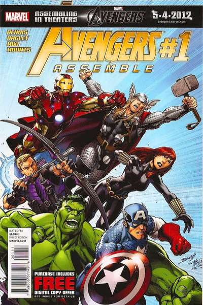 Avengers Assemble #1 Comic Books - Covers, Scans, Photos  in Avengers Assemble Comic Books - Covers, Scans, Gallery