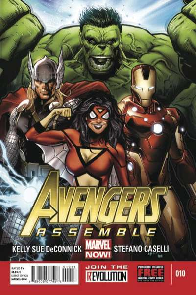 Avengers Assemble #10 comic books - cover scans photos Avengers Assemble #10 comic books - covers, picture gallery