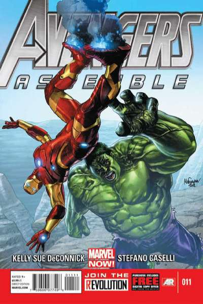 Avengers Assemble #11 comic books - cover scans photos Avengers Assemble #11 comic books - covers, picture gallery