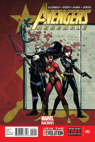 Avengers Assemble #12 comic books - cover scans photos Avengers Assemble #12 comic books - covers, picture gallery