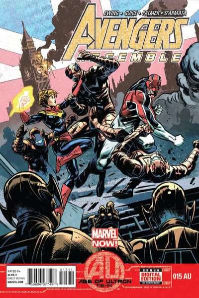 Avengers Assemble #15 comic books - cover scans photos Avengers Assemble #15 comic books - covers, picture gallery