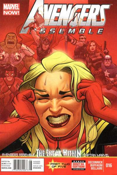 Avengers Assemble #16 comic books - cover scans photos Avengers Assemble #16 comic books - covers, picture gallery