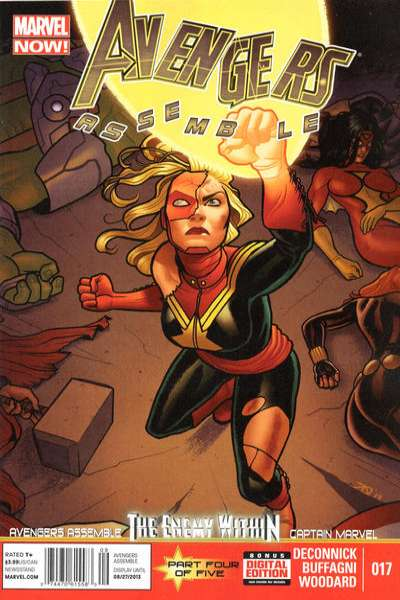 Avengers Assemble #17 Comic Books - Covers, Scans, Photos  in Avengers Assemble Comic Books - Covers, Scans, Gallery