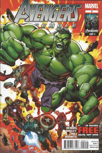 Avengers Assemble #2 Comic Books - Covers, Scans, Photos  in Avengers Assemble Comic Books - Covers, Scans, Gallery