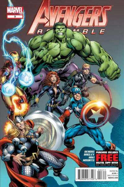 Avengers Assemble #3 Comic Books - Covers, Scans, Photos  in Avengers Assemble Comic Books - Covers, Scans, Gallery