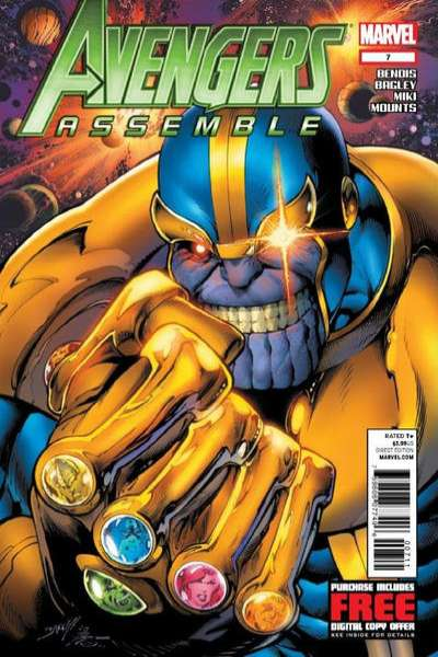 Avengers Assemble #7 Comic Books - Covers, Scans, Photos  in Avengers Assemble Comic Books - Covers, Scans, Gallery