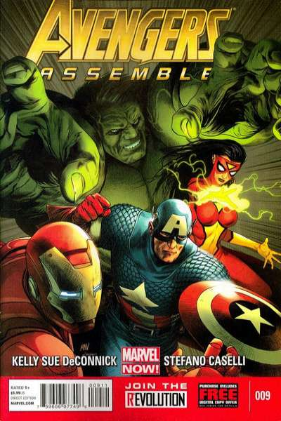 Avengers Assemble #9 comic books - cover scans photos Avengers Assemble #9 comic books - covers, picture gallery