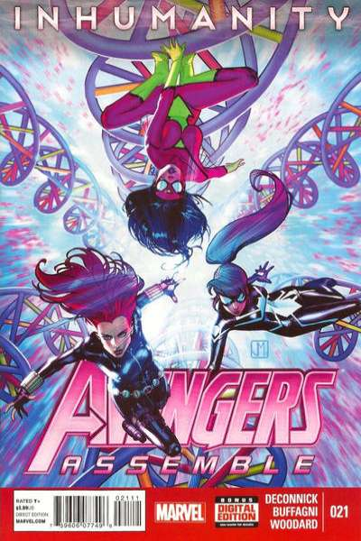 Avengers Assemble #21 comic books - cover scans photos Avengers Assemble #21 comic books - covers, picture gallery