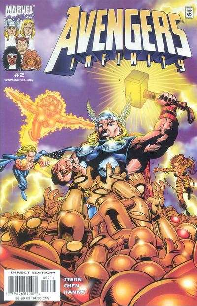 Avengers Infinity #2 Comic Books - Covers, Scans, Photos  in Avengers Infinity Comic Books - Covers, Scans, Gallery