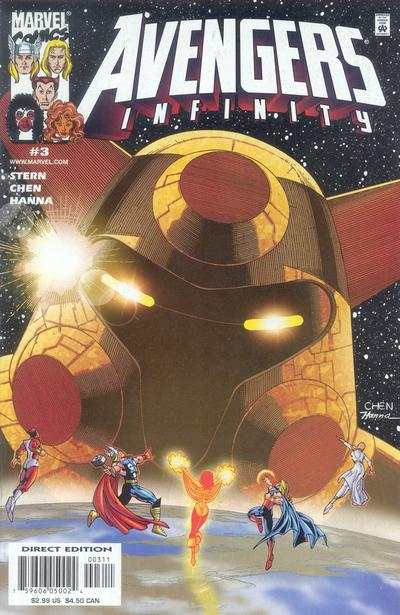 Avengers Infinity #3 Comic Books - Covers, Scans, Photos  in Avengers Infinity Comic Books - Covers, Scans, Gallery