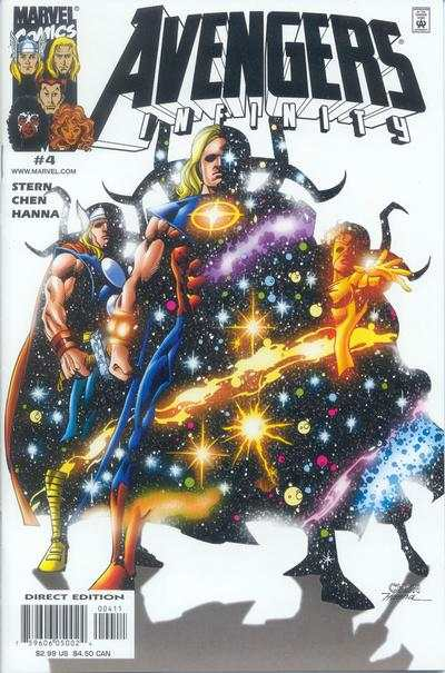 Avengers Infinity #4 Comic Books - Covers, Scans, Photos  in Avengers Infinity Comic Books - Covers, Scans, Gallery