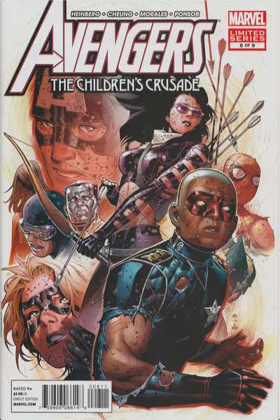 Avengers: The Children's Crusade #8 comic books for sale