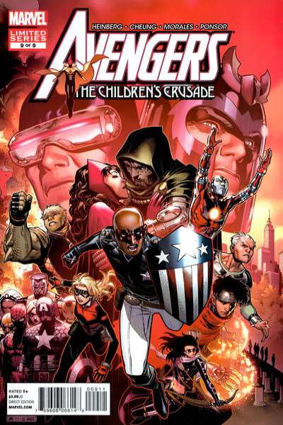 Avengers: The Children's Crusade #9 comic books for sale