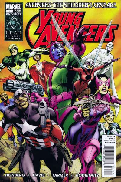 Avengers: The Children's Crusade #1 comic books for sale