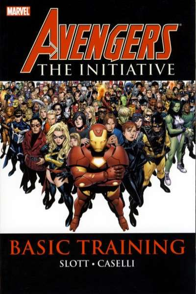 Avengers: The Initiative - Hardcover comic books