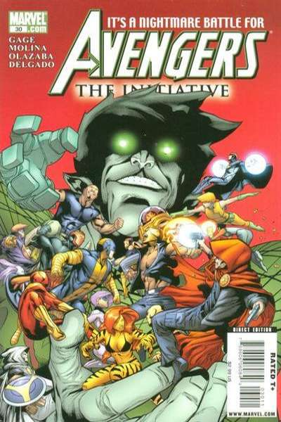Avengers: The Initiative #30 Comic Books - Covers, Scans, Photos  in Avengers: The Initiative Comic Books - Covers, Scans, Gallery