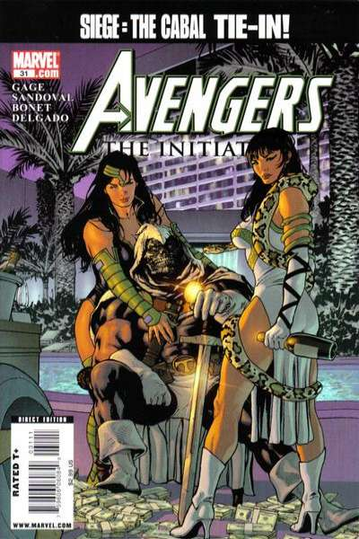 Avengers: The Initiative #31 Comic Books - Covers, Scans, Photos  in Avengers: The Initiative Comic Books - Covers, Scans, Gallery