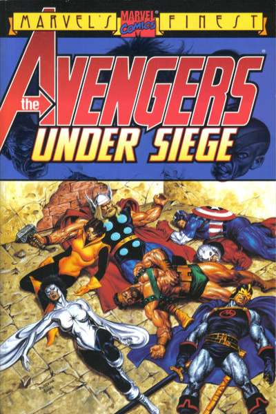 Avengers: Under Siege comic books