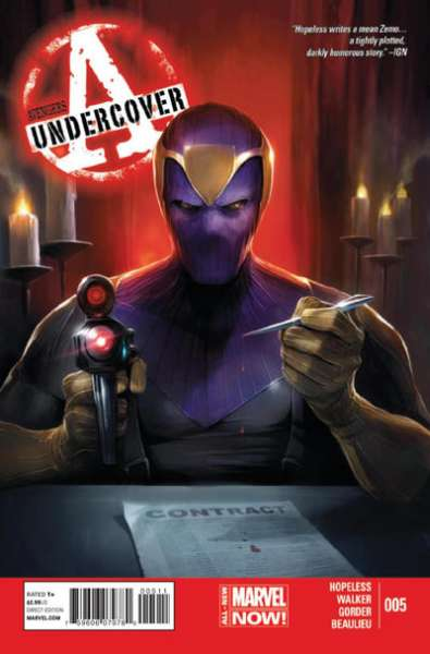 Avengers Undercover #5 Comic Books - Covers, Scans, Photos  in Avengers Undercover Comic Books - Covers, Scans, Gallery
