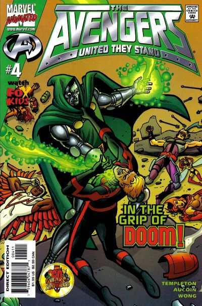 Avengers: United They Stand #4 Comic Books - Covers, Scans, Photos  in Avengers: United They Stand Comic Books - Covers, Scans, Gallery