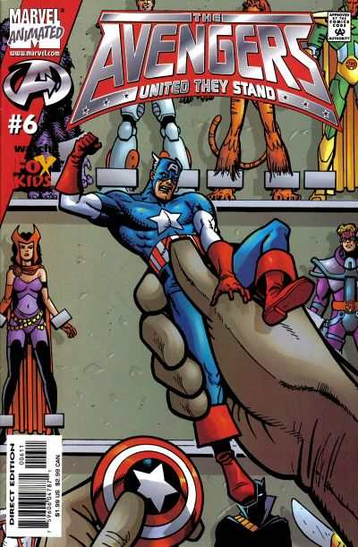 Avengers: United They Stand #6 comic books - cover scans photos Avengers: United They Stand #6 comic books - covers, picture gallery